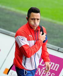 Arsenal's Alexis Sanchez  - Photo mandatory by-line: Joe Meredith/JMP - Mobile: 07966 386802 - 09/11/2014 - SPORT - Football - Swanswa - Liberty Stadium - Swansea City v Arsenal - Barclays Premier League