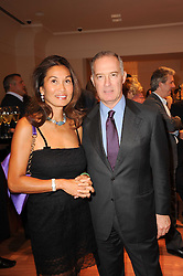 Managing Director UK of Bulgari Angelina Ypma and FRANCESCO TRAPANI CEO of Bulgari at a party to celebrate the B.zero 1 design by Anish Kapoor held at Bulgari, 168 New Bond Street, London on 2nd June 2010.