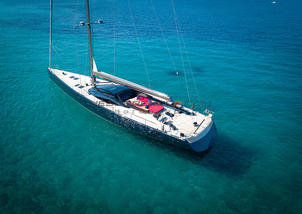S/Y MISSY, 108 foot,designed by Malcolm McKeon, built in Vitters and Green Marine,Palma de Mallorca, Spain