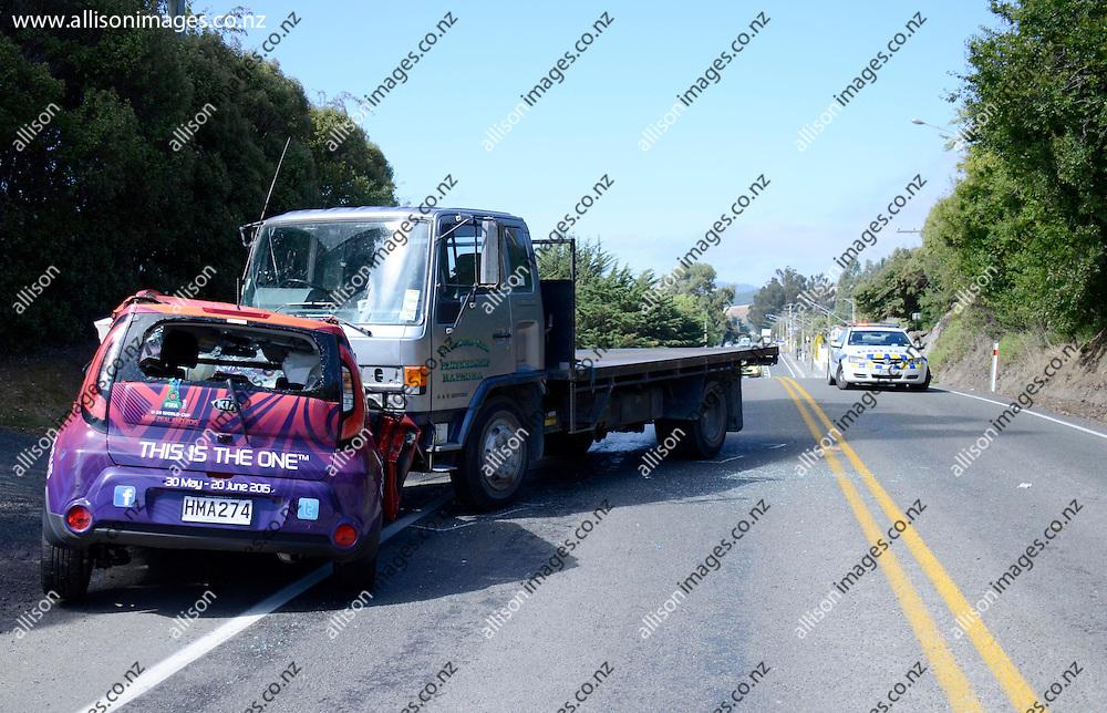 February  Car Accident