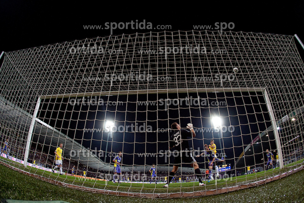 Jasmin Handanovic of NK Maribor at 2nd Round of Europe League football match between NK Maribor (Slovenia) and Birmingham City (England), on September 29, 2011, in Maribor, Slovenia.  (Photo by Urban Urbanc / Sportida)