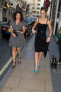 REBECCA BARR; TARA PALMER-TOMPKINSON, Book launch party for  Sashenka, a romantic novel set in St Petersburg following a society girl who becomes involved with the Communist Party. By Simon Sebag-Montefiore. Asprey. New Bond St. London. 1 July 2008.  *** Local Caption *** -DO NOT ARCHIVE-© Copyright Photograph by Dafydd Jones. 248 Clapham Rd. London SW9 0PZ. Tel 0207 820 0771. www.dafjones.com.