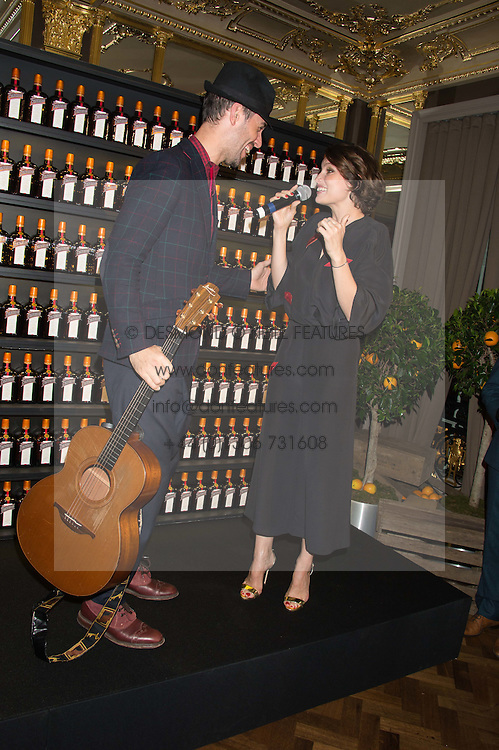 CHARLIE WINSTON and LAETITIA CASTA at the Cointreau Creative Crew Launch at the Cafe Royal, Regent's Street, London on 27th October 2015.