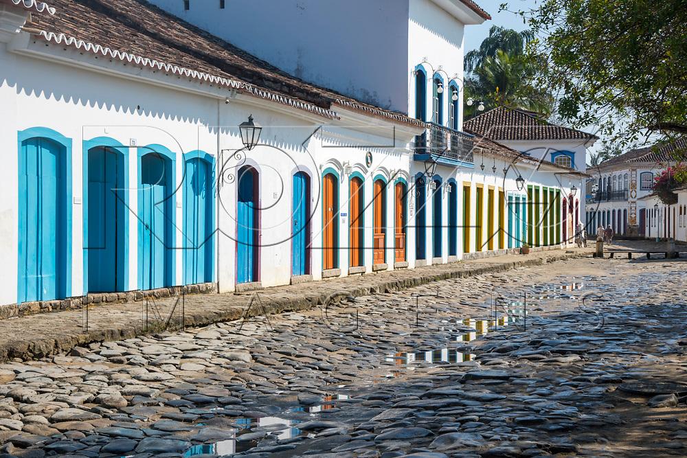 Casarios no centro histórico, Paraty- RJ, 09/2017.