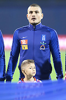 ZAGREB, CROATIA - NOVEMBER 09:  Portrait of Kyriakos Papadopoulos of Greece during the FIFA 2018 World Cup Qualifier play-off first leg match between Croatia and Greece at Maksimir Stadium on November 9, 2017 in Zagreb, Croatia. (Sanjin Strukic/PIXSELL)