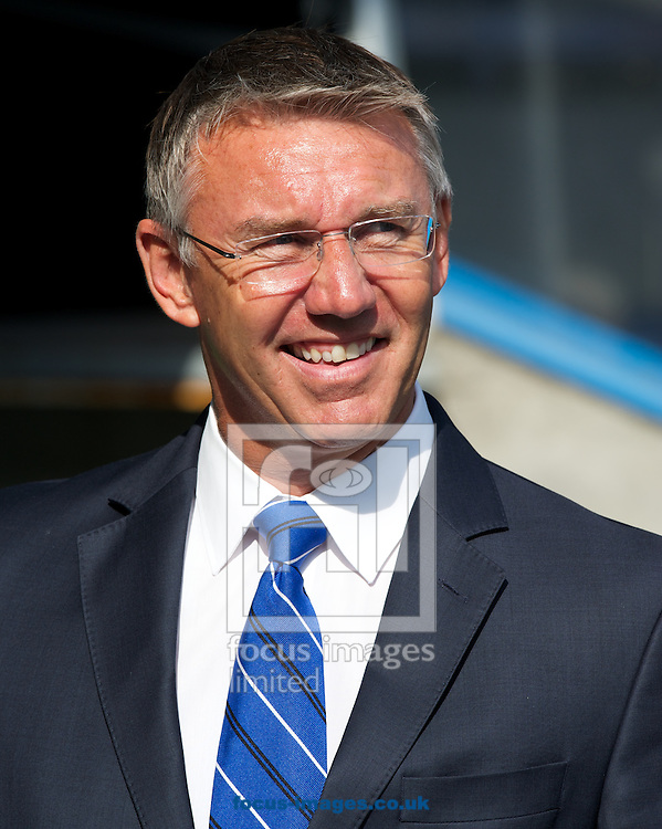 Manager Nigel Adkins of Reading before the Sky Bet Championship match at the Madejski Stadium, Reading<br /> Picture by Alan Stanford/Focus Images Ltd +44 7915 056117<br /> 28/09/2014