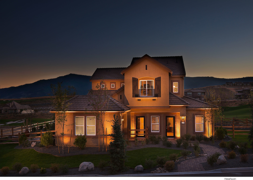 Residential New homes by Toll Brothers in Somerset Mt Crest, Reno, Nv