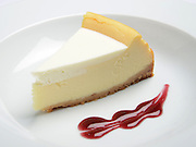 Slice of Baked Cheese cake