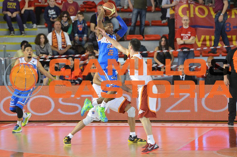 DESCRIZIONE : Roma Lega A 2012-2013 Acea Roma Enel Brindisi<br /> GIOCATORE : Jonathan Gibson<br /> CATEGORIA : passaggio controcampo marketing<br /> SQUADRA : Acea Virtus Roma<br /> EVENTO : Campionato Lega A 2012-2013 <br /> GARA : Acea Roma Enel Brindisi<br /> DATA : 21/04/2013<br /> SPORT : Pallacanestro <br /> AUTORE : Agenzia Ciamillo-Castoria/GiulioCiamillo<br /> Galleria : Lega Basket A 2012-2013  <br /> Fotonotizia : Roma Lega A 2012-2013 Acea Roma Enel Brindisi<br /> Predefinita :