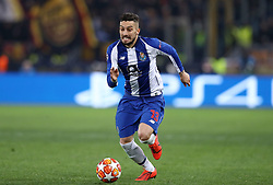 February 12, 2019 - Rome, Italy - AS Roma v FC Porto : UEFA Champions League Round of 16 ..Alex Telles of Porto at Olimpico Stadium in Rome, Italy on February 12, 2019. (Credit Image: © Matteo Ciambelli/NurPhoto via ZUMA Press)