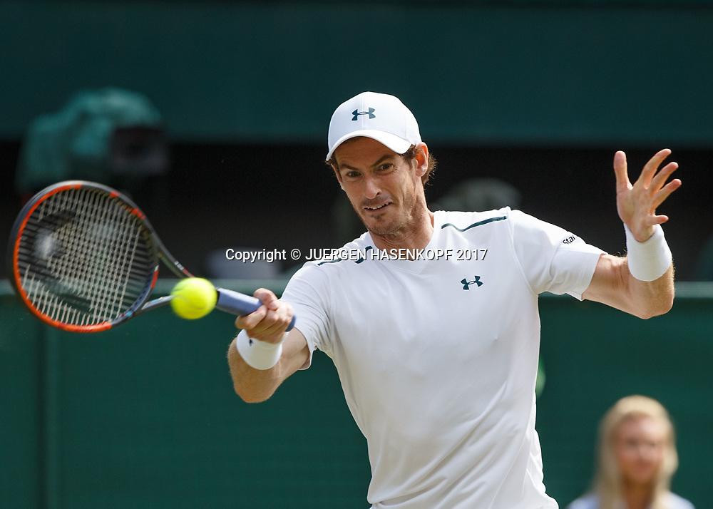 ANDY MURRAY (GBR)<br /> <br /> Tennis - Wimbledon 2017 - Grand Slam ITF / ATP / WTA -  AELTC - London -  - Great Britain  - 12 July 2017.