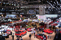 Salon de l'automobile de Genève, 8 mars 2019.<br />