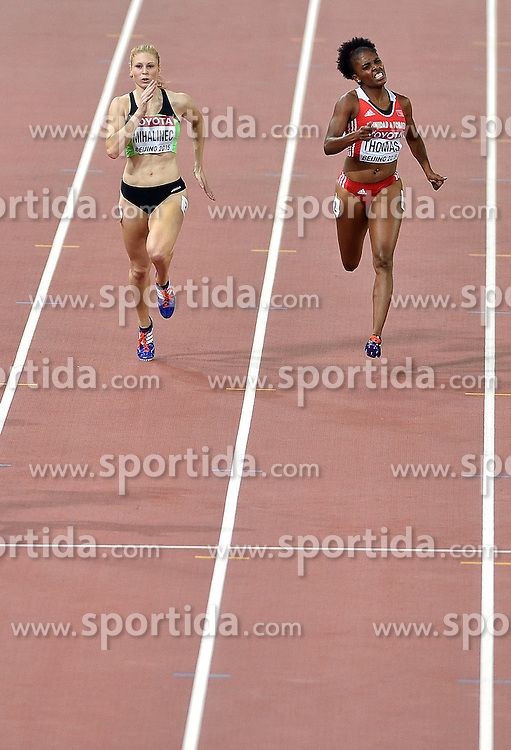27-08-2015 CHN: IAAF World Championships Athletics day 6, Beijing<br /> Maja Mihalinec SLO run a personal best on the 200 m in 23.04<br /> Reyare Thomas USA 7th