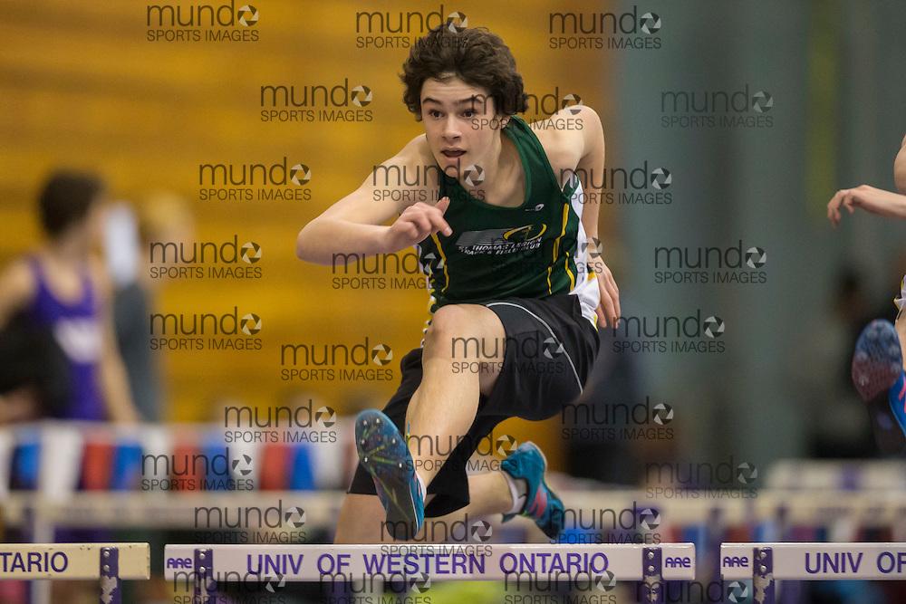 STL meet in London Ontario, Sunday,  February 2, 2014.<br /> Mundo Sport Images/ Geoff Robins