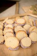 Adzuki Bean Ice Cream between Amish Butter & Almond Sable cookies