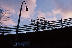 Under the J,M,Z subway or BQE in Williamsburg, Brooklyn, NY 2007