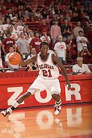 Arkansas Razorbacks men's basketball team during the 2006-2007 season at Bud Walton Arena in Fayetteville, Arkansas...©Wesley Hitt.All Rights Reserved.501-258-0920.