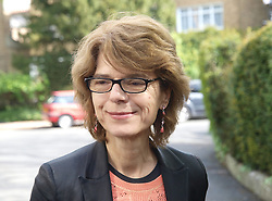 Vicky Pryce, former minister Chris Huhne's ex wife arrives at her London home after being released from prison, London, UK, Monday May 13, 2013. Photo by: Max Nash / i-Images