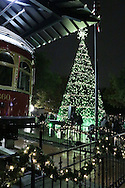 Dickens in historic downtown Plano, Texas on Friday, Dec. 2, 2016. (Photo by Kevin Bartram)
