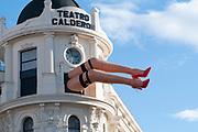 Teatro Calderon, Calle Atocha, Plaza Jacinto Benavente, Madrid, Spain