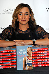 Jessica Ennis book signing at Waterstones, Canary Wharf, London, UK, November 9, 2012. Photo by Chris Joseph / i-Images.<br /> File photo - Jessica Ennis Pregnant<br /> <br /> Team GB gold medallist Jessica Ennis announces this morning Friday 10th January 2014 via her Facebook fan page that she is pregnant. Photo filed Friday, 10th January 2014