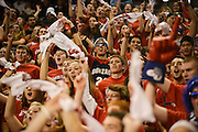 The Kennel Club reacts vs. Southern Utah<br /> <br /> Photo by Rajah Bose