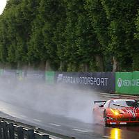 #62, Ferrari 458 Italia, Scuderia Corsa, driven by William Sweedler, Townsend Bell, Jeff Segal, 24 Heures Du Mans , 16/06/2016,