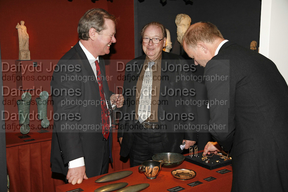 Rupert Wace and Lord McCalpine, The opening  day of the Grosvenor House Art and Antiques Fair.  Grosvenor House. Park Lane. London. 14 June 2006. ONE TIME USE ONLY - DO NOT ARCHIVE  © Copyright Photograph by Dafydd Jones 66 Stockwell Park Rd. London SW9 0DA Tel 020 7733 0108 www.dafjones.com
