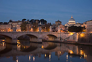 The Vatican and the Tiber River, Morning