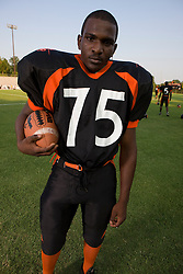 2008 Charlottesville High School Black Knights football team, Charlottesville HS, Charlottesville, Virginia, August 21, 2008.