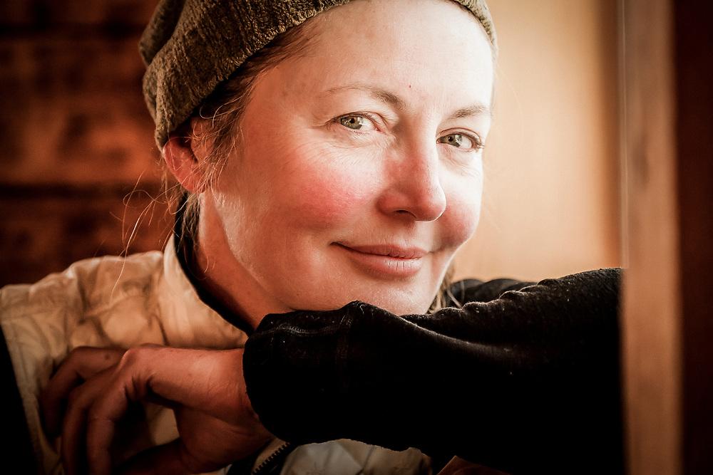 Angela Vincent, Icefall Lodge February 2014.