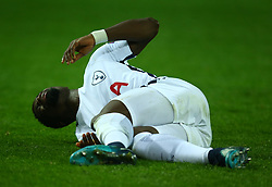 November 21, 2017 - Dortmund, Germany - Tottenham Hotspur's Serge Aurier during UEFA Champion  League Group H Borussia Dortmund between Tottenham Hotspur played at Westfalenstadion, Dortmund, Germany 21 Nov 2017  (Credit Image: © Kieran Galvin/NurPhoto via ZUMA Press)