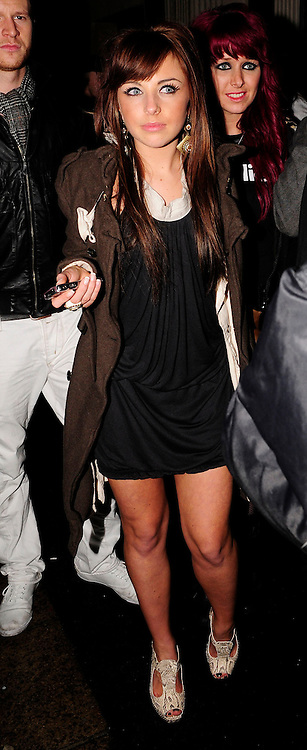 22.JAN.2009 - LONDON<br /> <br /> LOUISA LYTON LEAVING MOVIDA NIGHT CLUB WITH X-FACTOR BOYS JLS<br /> <br /> BYLINE MUST READ : EDBIMAGEARCHIVE.COM<br /> <br /> *THIS IMAGE IS STRICTLY FOR UK NEWSPAPERS &amp; MAGAZINES ONLY* <br /> *FOR WORLDWIDE SALES OR WEB USE PLEASE CONTACT EDBIMAGEARCHIVE ON 0208 954 5968*