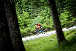Mihael Stajnar competes at Sloveian Road Cycling Championship Time Trial 2020 Gorje - Pokljuka, on June 28, 2020 in Pokljuka, Slovenia. Photo by Matic Klansek Velej / Sportida