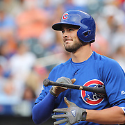 NEW YORK, NEW YORK - July 01: Kris Bryant #17 of the Chicago Cubs batting during the Chicago Cubs Vs New York Mets regular season MLB game at Citi Field on July 01, 2016 in New York City. (Photo by Tim Clayton/Corbis via Getty Images)