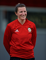 NEWPORT, WALES - Monday, September 2, 2019: Wales' Helen Ward during a training session at Rodney Parade ahead of the UEFA Women Euro 2021 Qualifying Group C match against Northern Ireland. (Pic by David Rawcliffe/Propaganda)