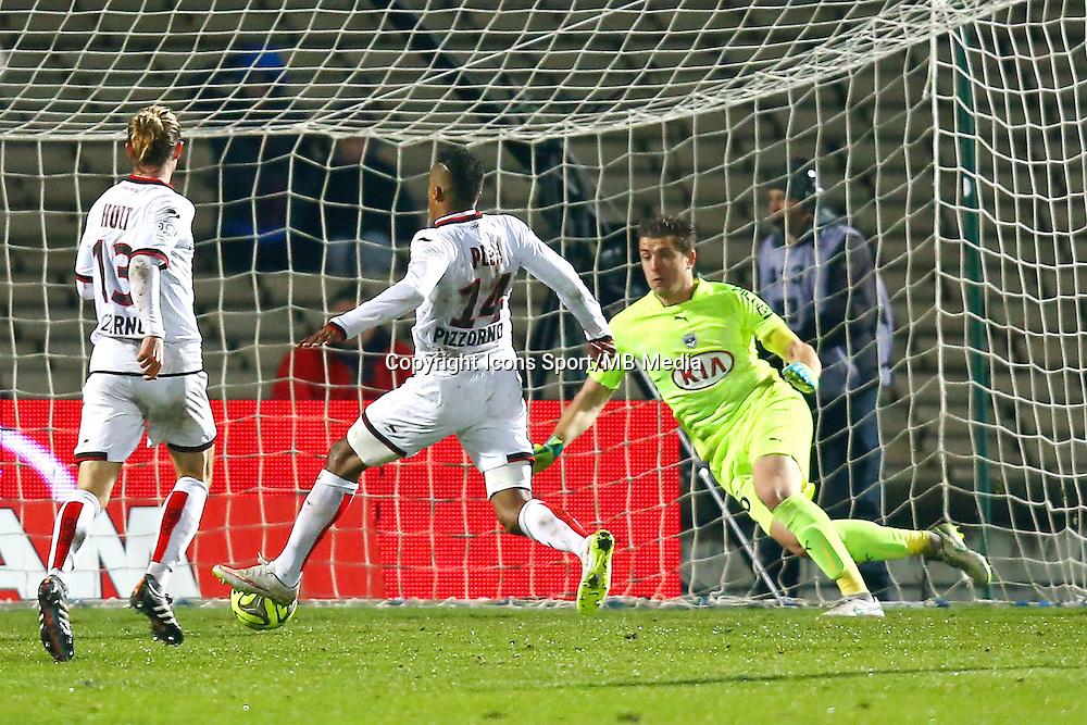 But Alassane Plea - 16.01.2015 - Bordeaux / Nice - 21e journee Ligue 1<br />Photo : Manuel Blondeau / Icon Sport