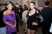 ILDA DIVICO; SOFIA HAYAT, The 30th London Critics' Circle Film Awards, held in aid of the NPSCC at the Landmark London Hotel. 18 February 2010.<br /> ILDA DIVICO; SOFIA HAYAT, The 30th London CriticsÕ Circle Film Awards, held in aid of the NPSCC at the Landmark London Hotel. 18 February 2010.