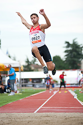 USTYUZHANIN Leonid, RUS, Long Jump, T20, 2013 IPC Athletics World Championships, Lyon, France