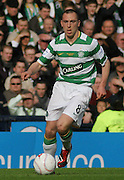 Celtic's Scott Brown during the League Cup final between Rangers and Celtic at Hampden Park -<br /> David Young Universal News And Sport