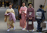 Geisha girls in Kyoto.