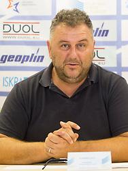 Vladimir Kevo at press conference of Athletic association Slovenia before IAAF World Championship London 2017 on August 2, 2017, Ljubljana, Slovenia. Photo by Urban Urbanc / Sportida
