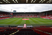 Sheffield United Bramall Lane stadium before the EFL Sky Bet Championship match between Sheffield United and Preston North End at Bramall Lane, Sheffield, England on 28 April 2018. Picture by Ian Lyall.