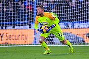 Ben Hamer of Huddersfield Town (12) in action during the Premier League match between Huddersfield Town and Arsenal at the John Smiths Stadium, Huddersfield, England on 9 February 2019.