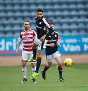 Dundee&rsquo;s Faissal El Bakhtaoui - Dundee v Hamilton Academical in the Ladbrokes Scottish Premiership at Dens Park, Dundee, Photo: David Young<br /> <br />  - &copy; David Young - www.davidyoungphoto.co.uk - email: davidyoungphoto@gmail.com