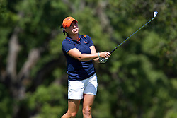 May 8, 2010; Stanford, CA, USA;  Virginia Cavaliers Calle Nielson during the final round of the 2010 NCAA Women's Golf West Regionals at the Stanford Golf Course. Credit: Jason O. Watson