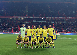 November 17, 2018 - Konya, Türkiye - Sweden team during Turkey vs. Sweden UEFA Nations League, League B game at Konya, Turkey, 17th Nov., 2018 (Credit Image: © Hikmet Saatci/Depo Photos via ZUMA Wire)