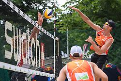 09-06-2016 DUI: Smart Major Beach Volleyball World Tour, Hamburg<br /> Robert Meeuwsen #2<br /> <br /> ***NETHERLANDS ONLY***