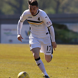 David Smith in action  during the Dumbarton v Falkirk Scottish Championship 06 May 2017<br /> <br /> <br /> <br /> <br /> <br /> (c) Andy Scott | SportPix.org.uk