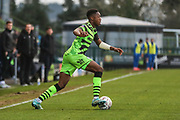 Forest Green Rovers Ebou Adams(14) during the The FA Cup match between Forest Green Rovers and Carlisle United at the New Lawn, Forest Green, United Kingdom on 30 November 2019.
